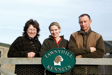 Tawnyhill Boarding Kennels - Jean, Tony and daughter